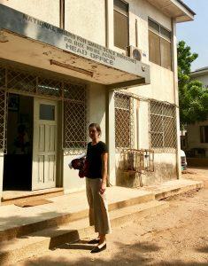 Amelie in Ghana